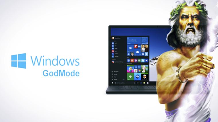 Image result for god mode windows 10 is