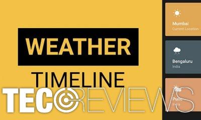 Weather Timeline screenshot
