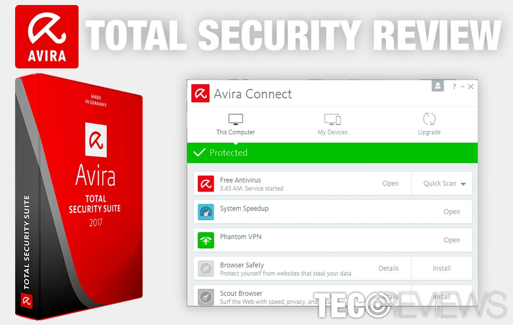 Avira Total Security Review