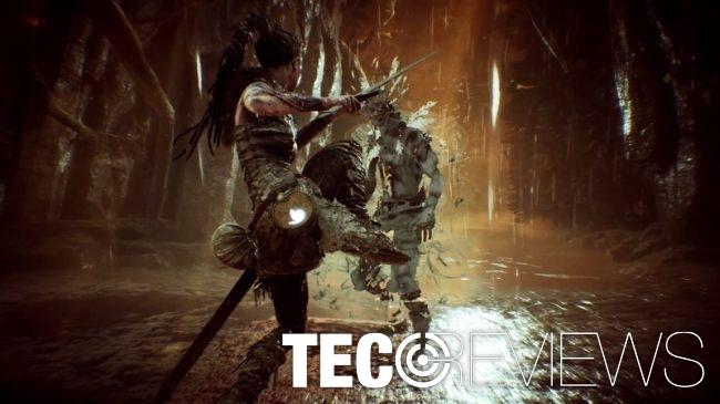 Combat gameplay screenshot of HellBlade