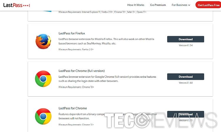 Lastpass Firefox Extension Not Working