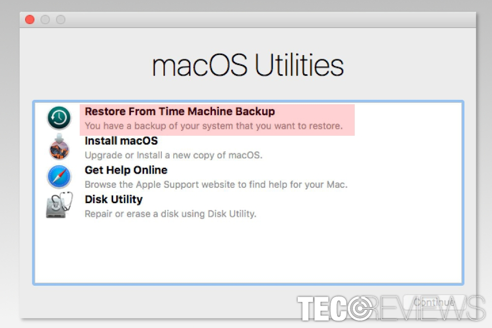 Restoring and Recovering an Entire Mac System from Time Machine Backups