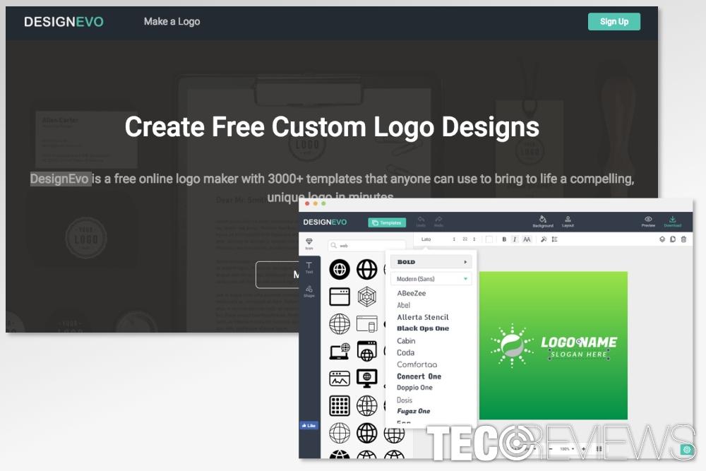 5 Free Logo Design Tools | TecoReviews