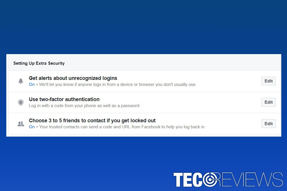 Top 5 tips to secure your Facebook account | TecoReviews