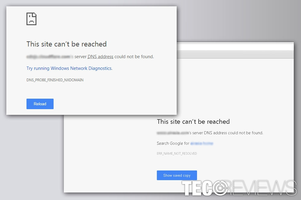 """How to fix """"Server DNS address could not be found"""" on Google"""